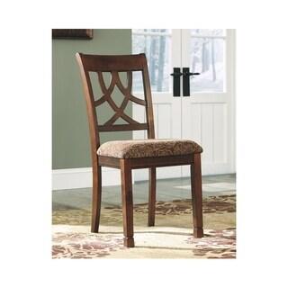 Leahlyn Dining Room Chair - Set of 2 - Medium Brown - N/A