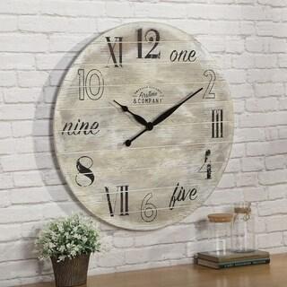 "FirsTime & Co.® Wheeler Barn Clock 27"""