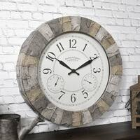 FirsTime & Co.® Stoneybrook Outdoor Clock - 14""