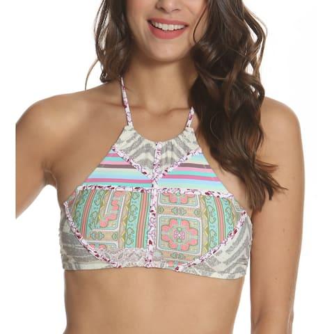 Kuleana Kai Koa High Neck Bikini Top