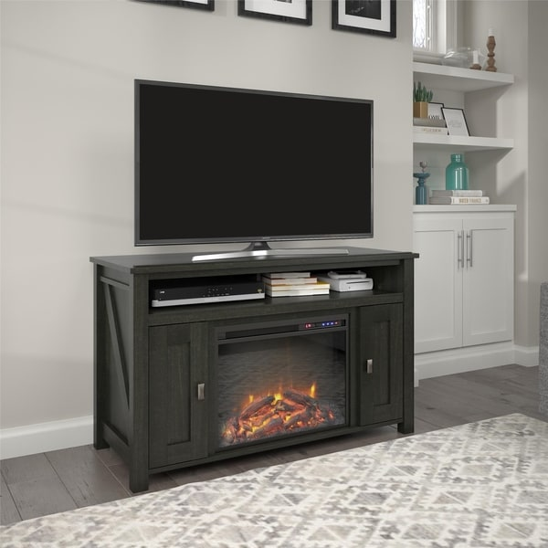 Avenue Greene Becken Ridge Electric Fireplace TV Console for TVs up to 50 inches