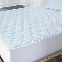 Arctic Sleep Cooling Gel Memory Foam Mattress Topper with Skirt