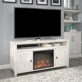 Avenue Greene Becken Ridge Electric Fireplace TV Console for TVs up to 60 inches