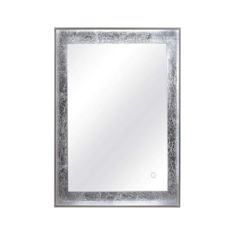 Dyconn Faucet Apollo 6400K LED Wall Mounted Backlit Vanity Bathroom Mirror with Touch On/Off