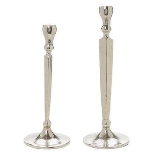 Rustic Candle Holders Set of 2