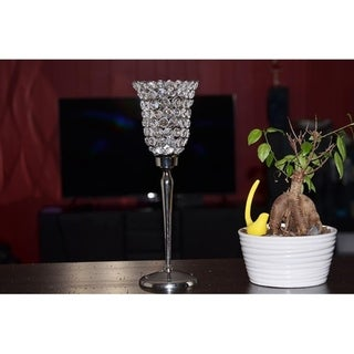 Hurricane Crystal Candle Holder