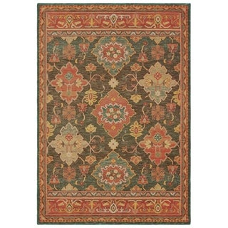 The Curated Nomad Claude Bordered Tribal Area Rug