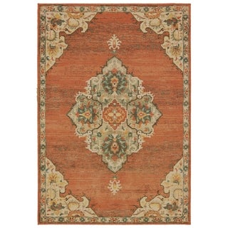 The Curated Nomad Claude Overscale Medallion Area Rug