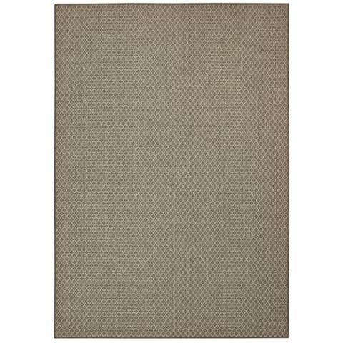 Tommy Bahama Boucle Diamond Lattice Grey Area Rug