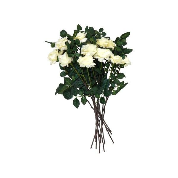 12 long stem real touch gardenias
