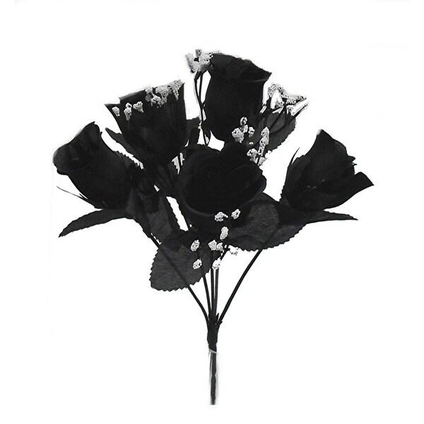 """12"""" M. P. rose bud bush x 5"""