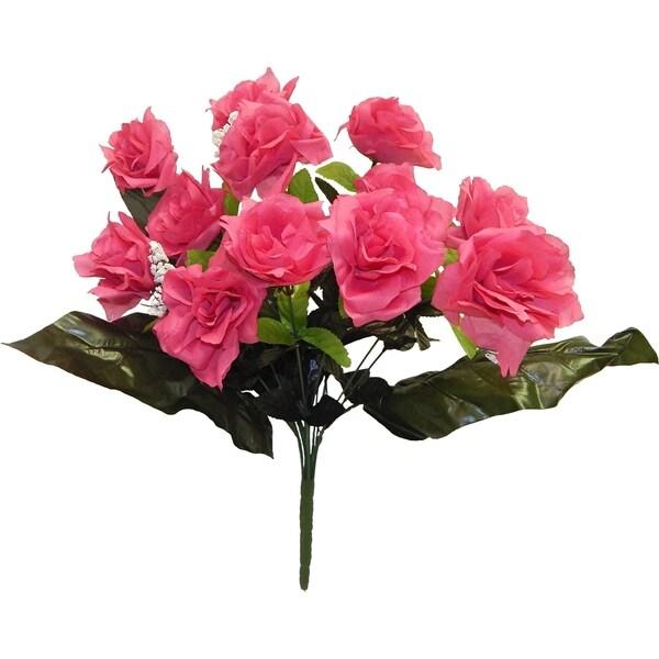 "21"" Open Rose X 12"