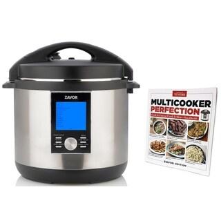 ZAVOR LUX LCD Multi Cooker with America's Test Kitchen Cookbook