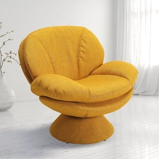 Porch & Den Intermark Upholstered Steel Leisure Accent Chair