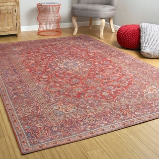 Ballard Indoor/Outdoor Vintage Printed Replica Rug