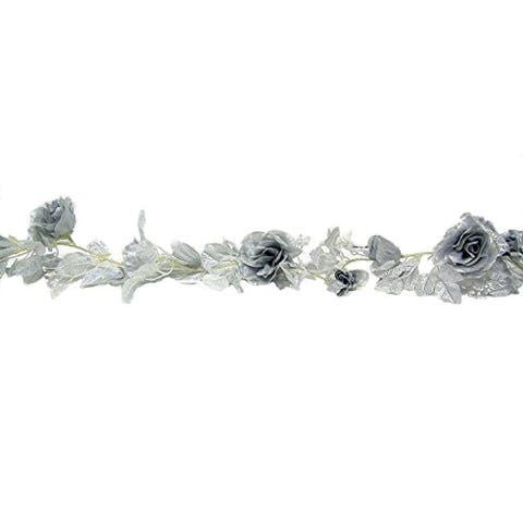 11-ft of Rose Bloom Garland
