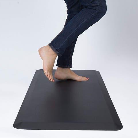 Anti-Fatigue Comfort Mat Non-Slip Durable Thick Cushioned Floor Padding