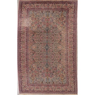 "Karastan All-Over Floral Wool Usa Oriental Area Rug - 14'11"" x 8'10"""