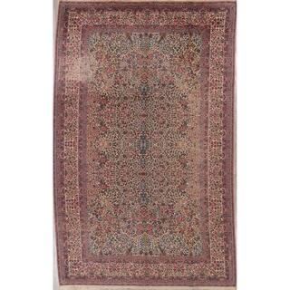 "Karastan All-Over Floral Wool Usa Oriental Area Rug - 14'11"" x 8'10"""