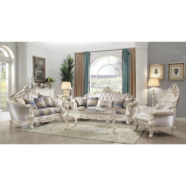 Shop Gracewood Hollow Basagic Fabric-upholstered Antique ...