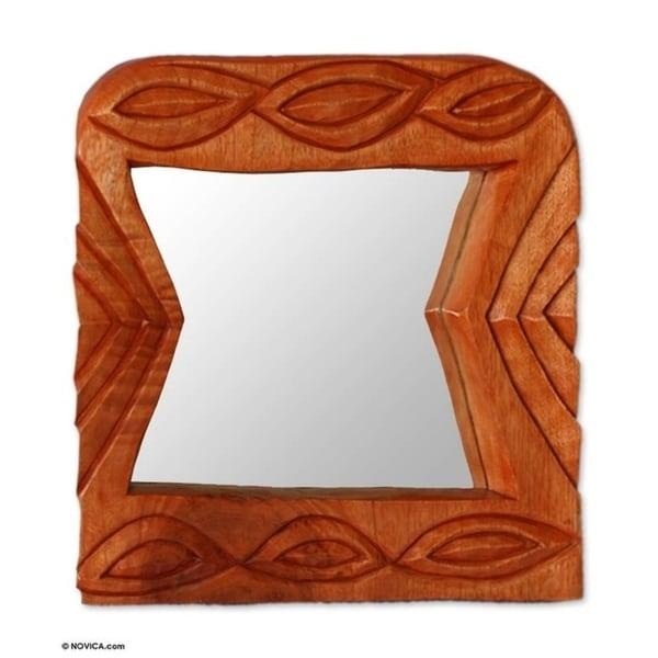 Friend Cedar mirror