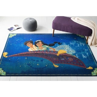 Safavieh Collection Inspired by Disney's Live Action Film Aladdin- Aladdin and Jasmine Rug