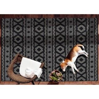 Bombay Home Montrose Grey Handmade Indoor/Outdoor Rug