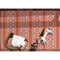 Bombay Home Montrose Orange Handmade Indoor/Outdoor Rug