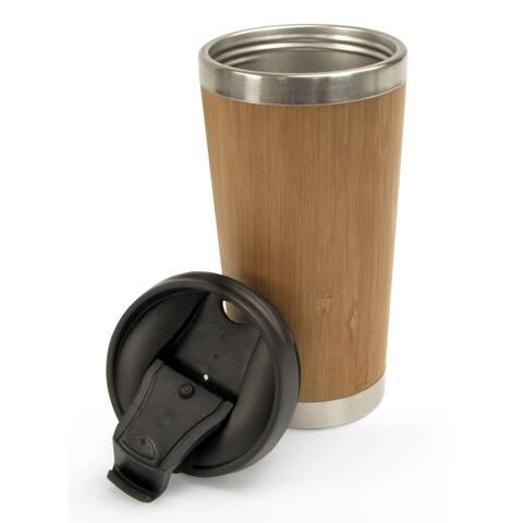 KitchenWorthy Bamboo Travel Mug