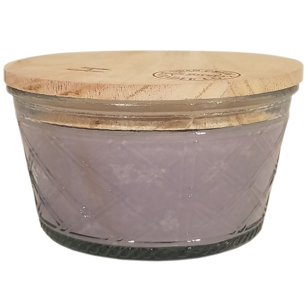 Swan Creek Timeless Collecton Double Wick Lavender and Lemongrass
