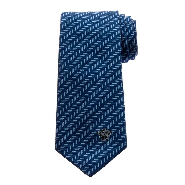 Versace Mens Pattern Silk Tie