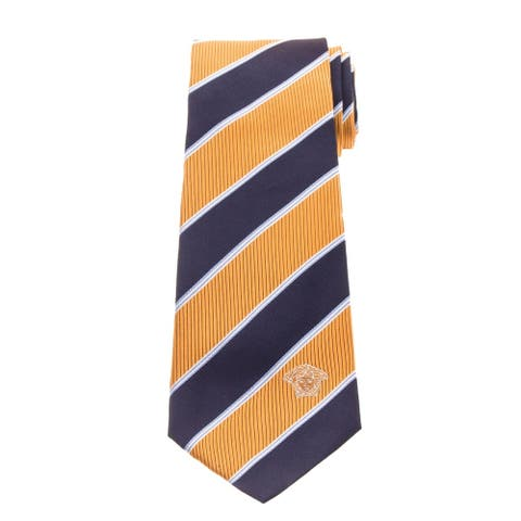Versace Men's Stripe Silk Tie