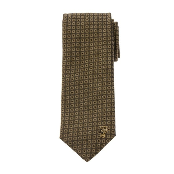 Versace Collection Mens Pattern Silk Tie
