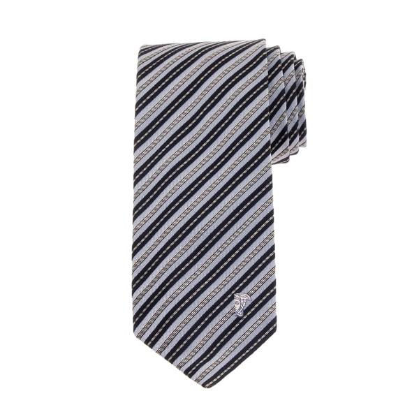 Versace Collection Mens Stripe Silk Tie