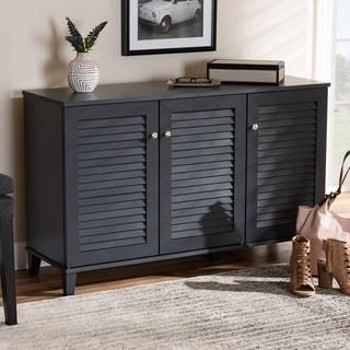 Copper Grove Zdolbuniv Wood 8-shelf Shoe Storage Cabinet