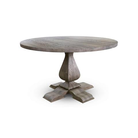 LINDO Dining Table - Antique Oak - Antique Oak