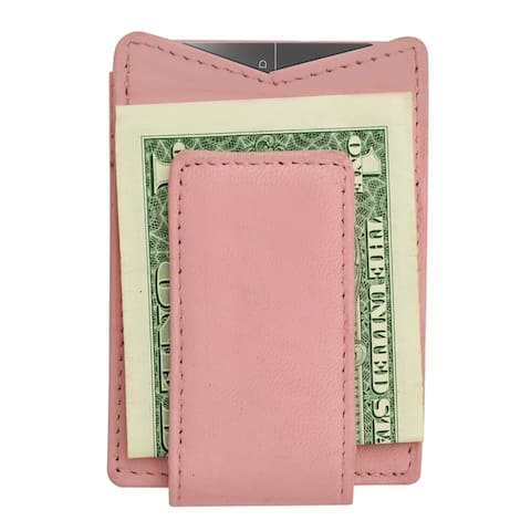 AFONiE Magnetic Leather Money Clip