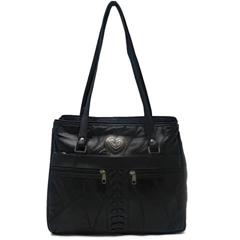 AFONiE Leather Southern Tote Bag
