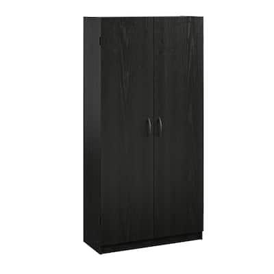 Black Kitchen Pantry Storage