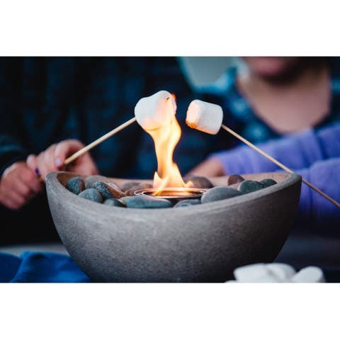 Wave Table Top Fire Bowl - Wave Fire Bowl 2