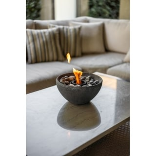 Wave Table Top Fire Bowl - Basin Fire Bowl