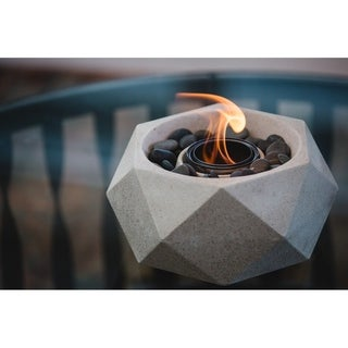 Wave Table Top Fire Bowl - Geo Fire Bowl