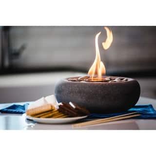 Wave Table Top Fire Bowl - Zen Fire Bowl