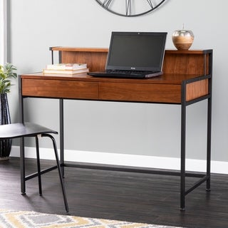 Holly & Martin Holry Contemporary Writing Desk with Book Ledge