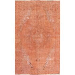 "Vintage Tabriz Geometric Hand Knotted Wool Oriental Persian Area Rug - 12'0"" x 9'2"""