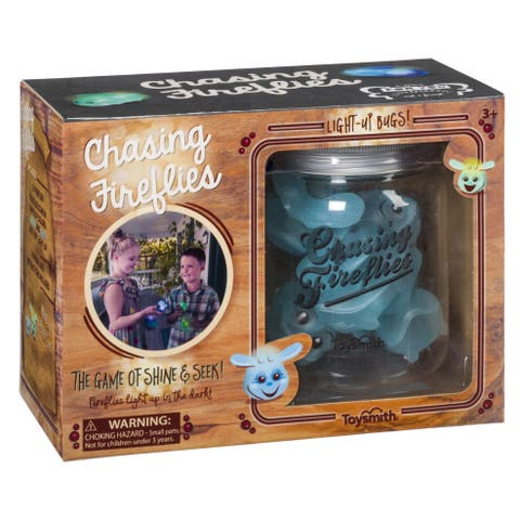 Toysmith Chasing Fireflies - The Game of Shine & Seek - Blue