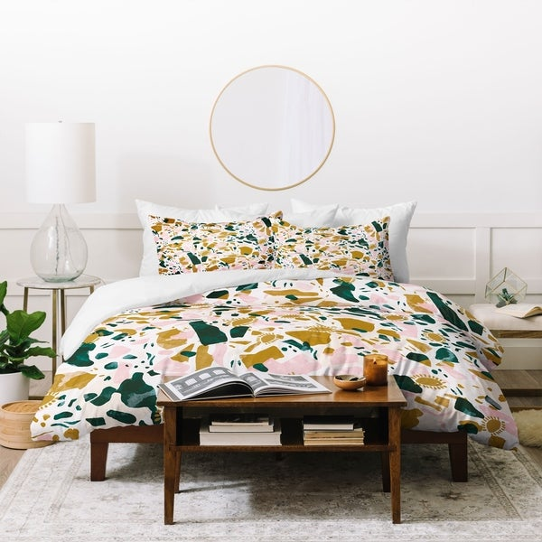 Deny Designs Boho Terrazzo Duvet Cover Set (3 Piece Set). Opens flyout.