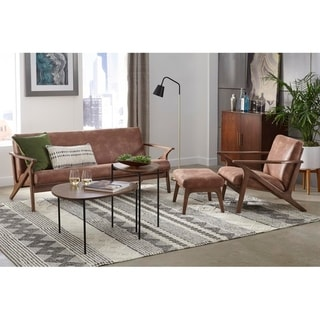 Simple Living Bianca Solid Wood Living Room Set