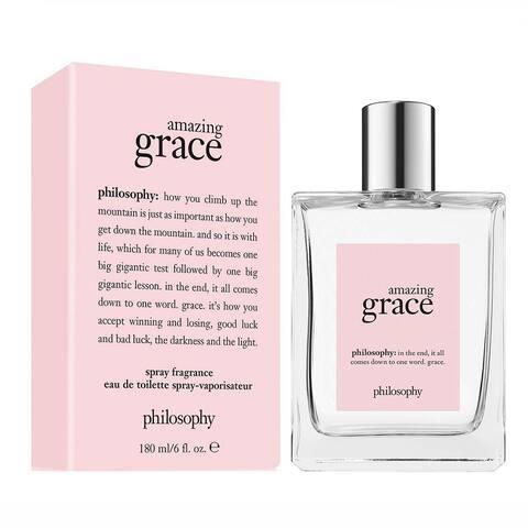 Philosophy Amazing Grace for Women 6oz Eau De Toilette Spray