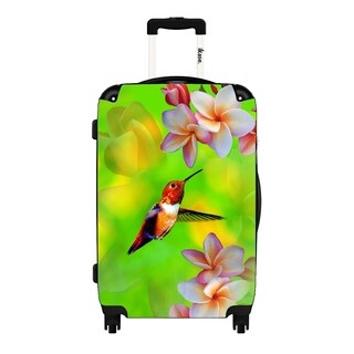 Woodpecker Bird,Hardside suitcase,Spinner,Upright Luggage,24-Inch